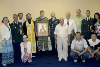 14 июня состоялось освящение нового штаба Уссурийского реестрового казачьего войска
