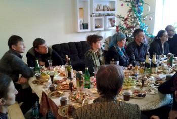 Праздничная Рождественская встреча в центре «Надежда»