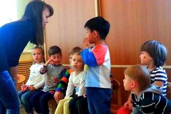 Друзья, поздравьте нас с дебютом! :) Сегодня мы сходили в детский сад «Сказка»
