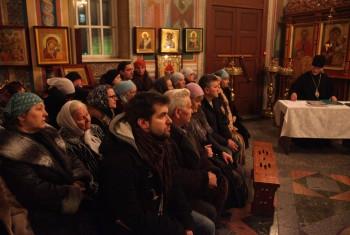 Ежегодное приходское собрание. 30 декабря 2013 года.