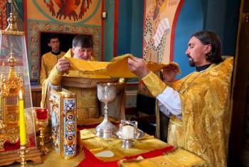 Праздник святых Первоверховных апостолов Петра и Павла в Свято-Иннокентьевском храме