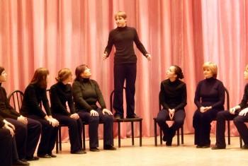 Творческий экзамен труппы передвижного православного театра успешно сдан!