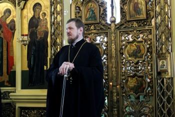 митрополит Хабаровский и Приамурский Владимир впервые посетил Свято-Иннокентьевский храм