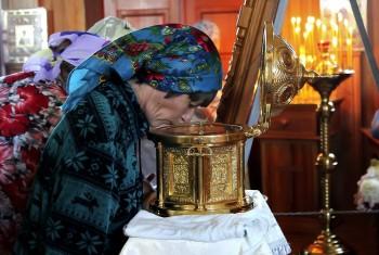 Мощи блаженной Матроны Московской посетили Иоанно-Предтеченский храм пос. Мухен