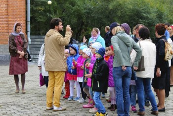 Начался новый учебный год в воскресной школе Свято-Иннокентьевского храма
