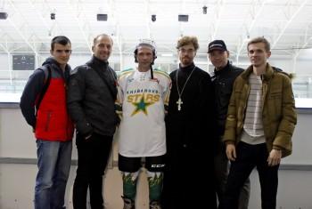 Открытие любительской хоккейной лиги и освящение комплекса «Лидер»