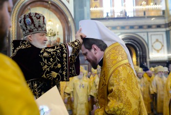 Поздравляем главу Приамурской Митрополии с 5-летием архиерейской хиротонии!