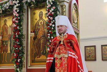 Поздравления архиерея со Светлым Христовым Воскресением!