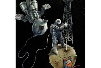 Иллюстрации Анхеля Болигана Корбо о современном мире