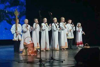 Воскресная школа храма свт. Иннокентия Иркутского приняла участие в ежегодном городском фестивале «Рождество глазами детей»