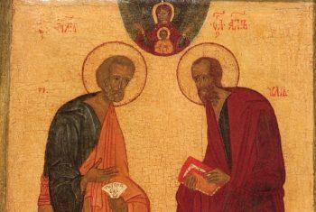 Проповедь на праздник святых и верховных апостолов Петра и Павла