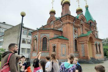Экскурсия для воспитанников летней площадки Центра по работе с населением «Содружество» г. Хабаровска