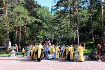 Крестный ход и молебен в честь памяти святых благоверных князей Петра и Февронии Муромских