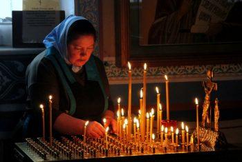 Димитриевская Родительская суббота в храме святителя Иннокентия Иркутского