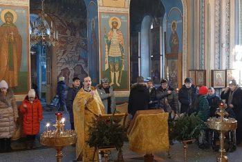 Молебен святому преподобному Илие Муромцу для людей людей с ОВЗ