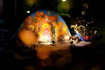 Украшение Рождественского вертепа