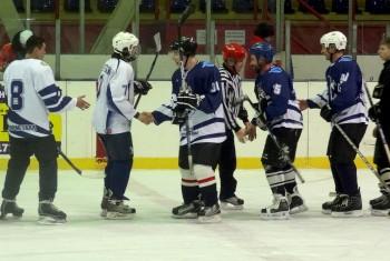 21 января состоялся хоккейный матч между командами Хабаровской и Амурской епархий