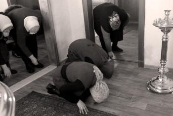 В селе Маяк впервые отслужено повечерие с чтением Великого канона преподобного Андрея Критского