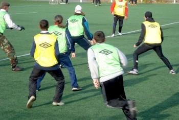 Воспоминания с осени или приходской футбол