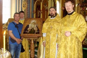В Свято-Иннокентьевский храм передан образ священномученика Патриарха Гермогена