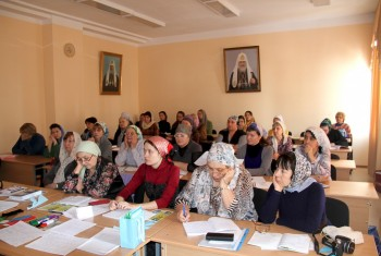 Воскресная школа Cвято-Иннокентьевского храма приняла участие в подготовке епархиального семинара
