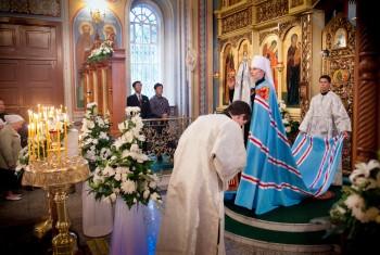 Свято-Иннокентьевский храм посетила делегация Православного комитета КНДР. Фоторепортаж