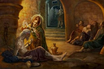 Прощание с мощами святой великомученицы Анастасии и мученика Вонифатия