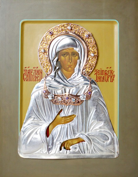 икона св. блаженной Ксении Петербуржской
